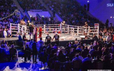 Spectacol și testosteron sâmbăta viitoare la București. Jumătate dintre încasările finalei SuperKombat vor fi donate pentru victimele din Colectiv